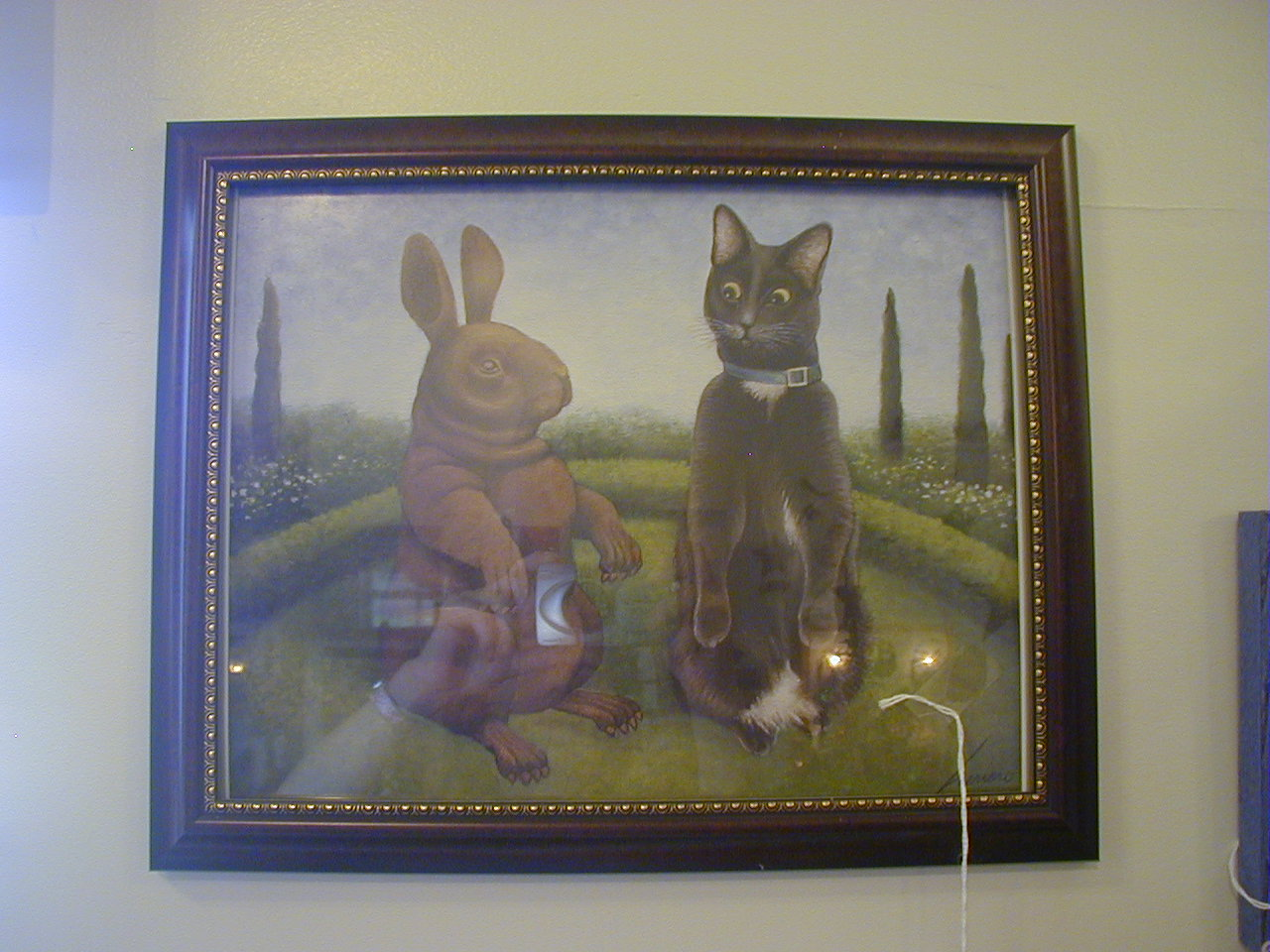 Bunny/Cat Picture