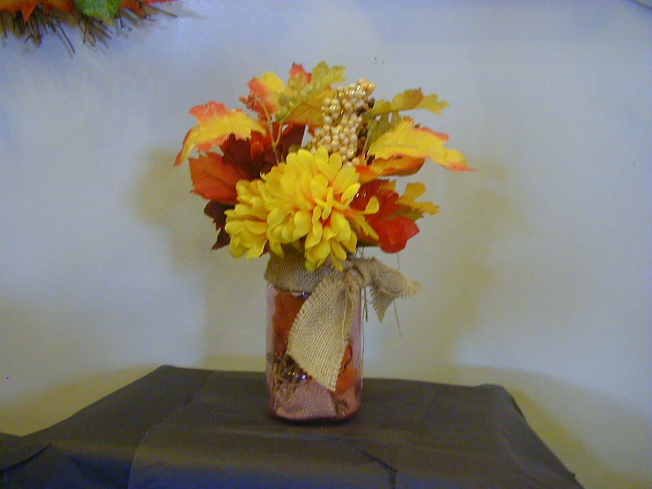 Fall Jar Arrangement