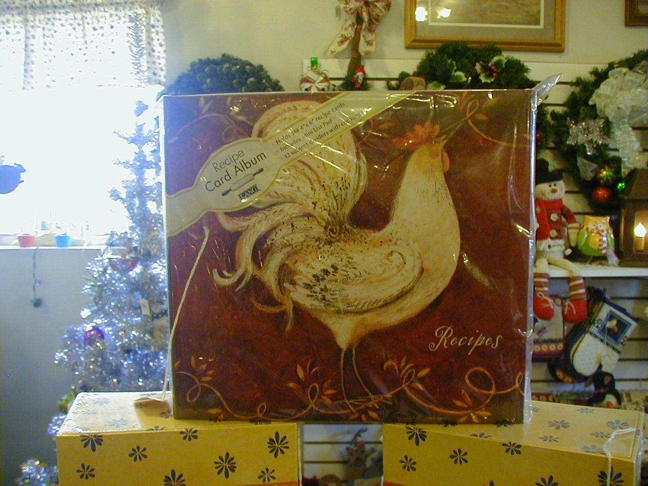 Lang Rooster Recipe Book