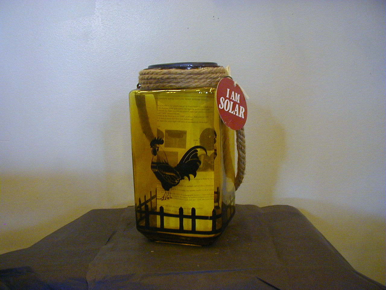 Solar Chicken Jar