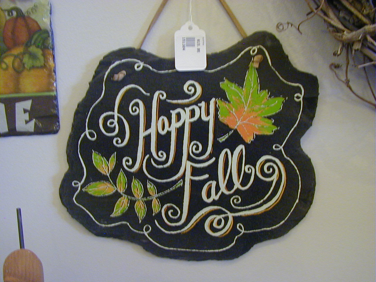 Fall Slate Plaque